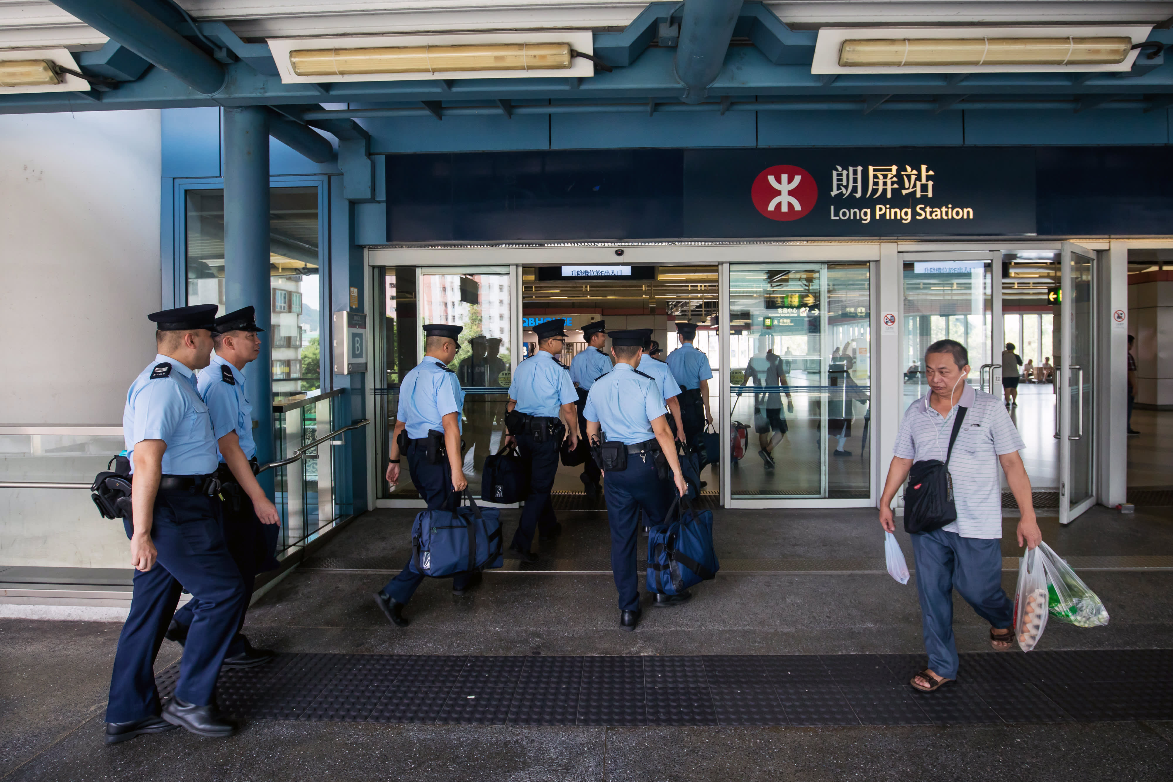 Trouble feared as Hong Kong activists return to scene of suspected triad attack