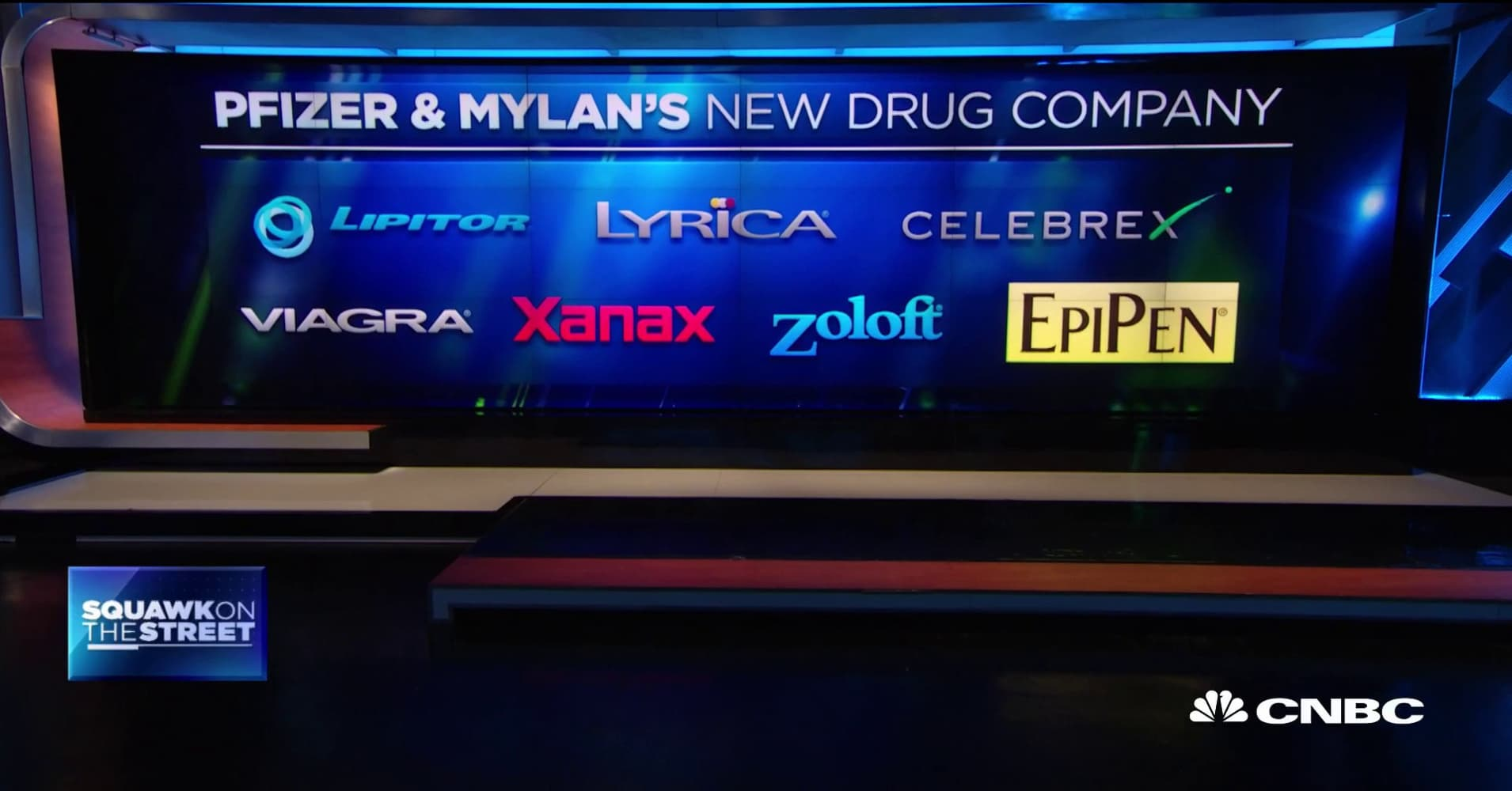 Mylan CEO to depart as part of deal with Pfizer's off-patent drug business
