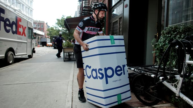 GP: Casper mattress delivery 150828