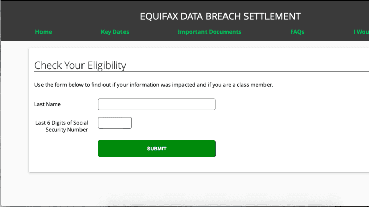 equifax claim form ftc  Equifax data breach: A step-by-step guide on how to file a claim