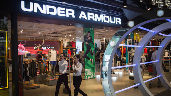 Under Armour names Stephanie Pugliese to lead struggling