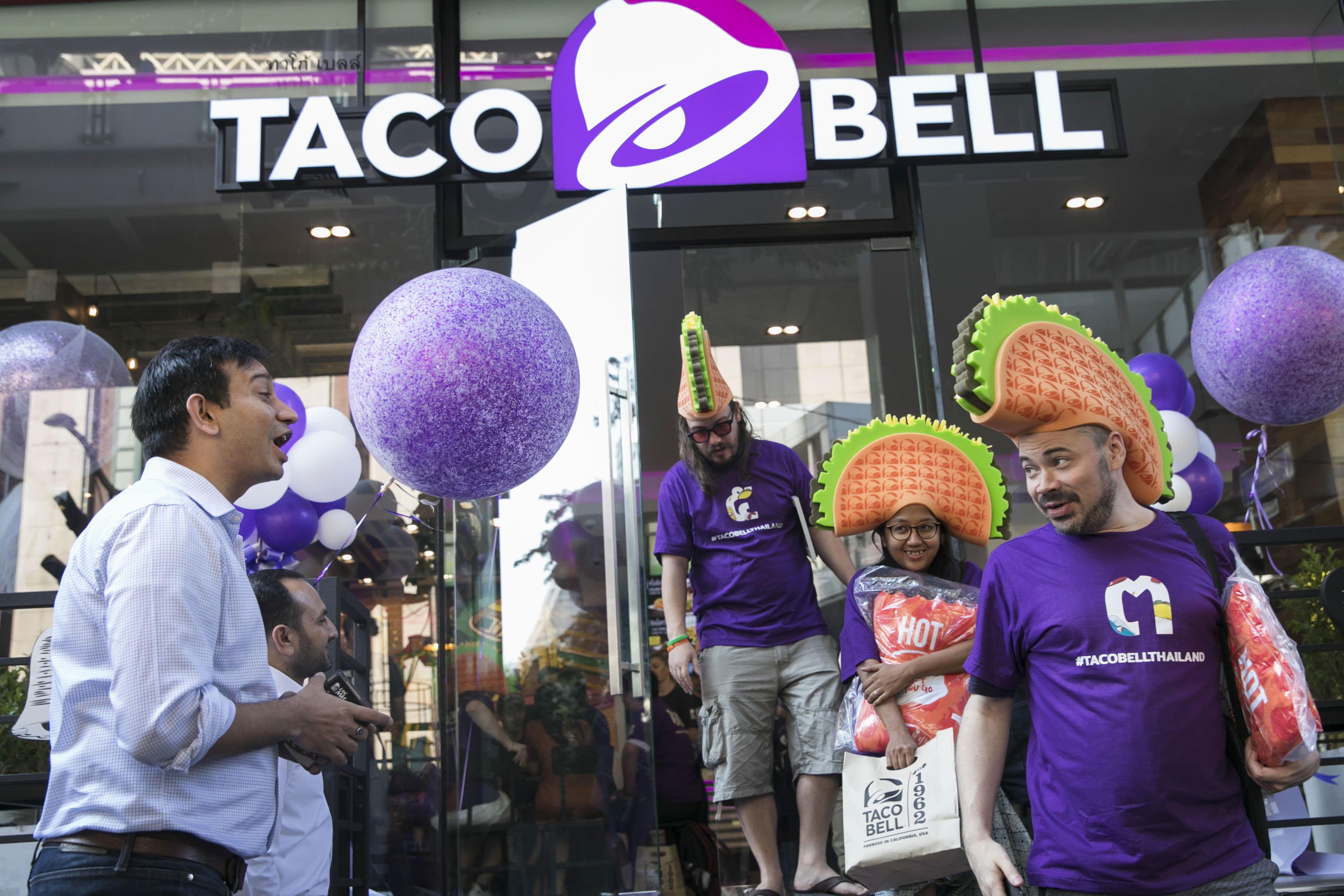 Shares of Taco Bell owner Yum Brands jump as earnings top estimates