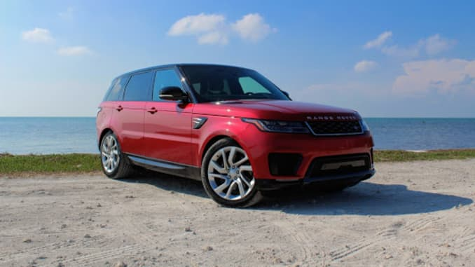 Range Rover Suv >> Review The 2019 Range Rover Sport P400e Isn T A Great Value