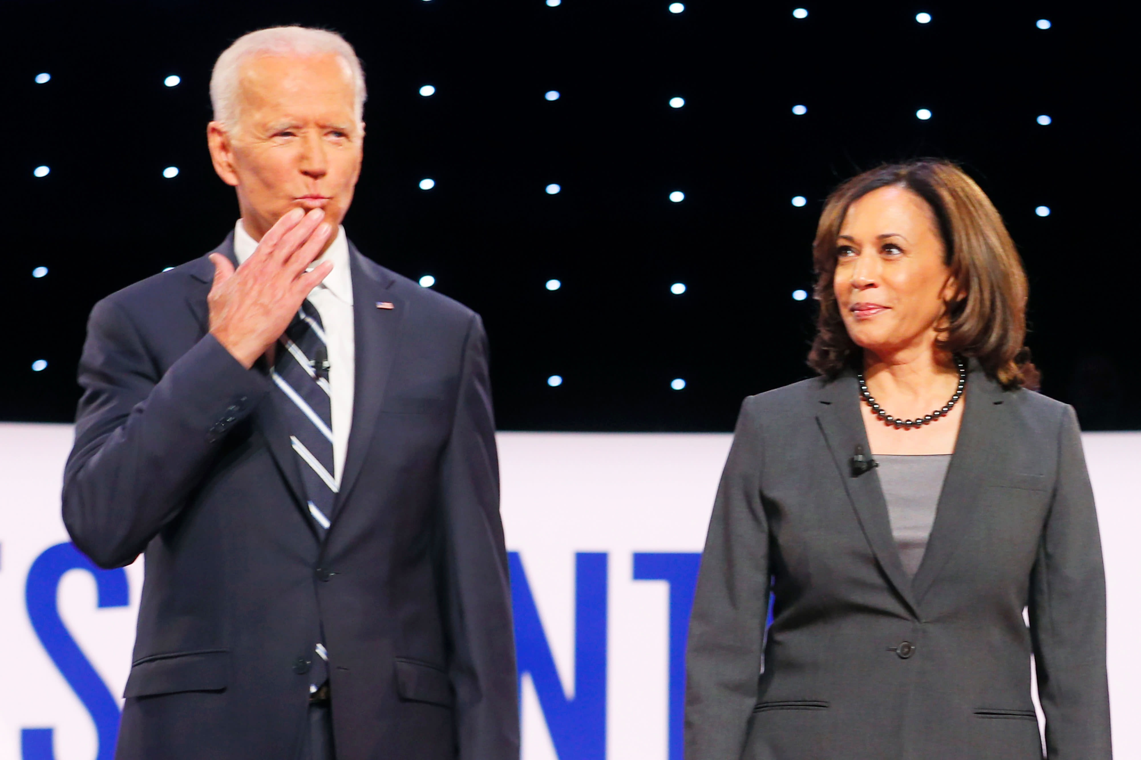 Joe Biden holds his big lead, and Kamala Harris slides: Here are the latest 2020 Democratic primary polls
