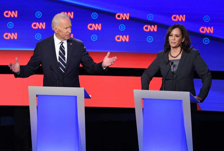 GP: Dems debate Detroit: Joe Biden, Kamala Harris 190731 1