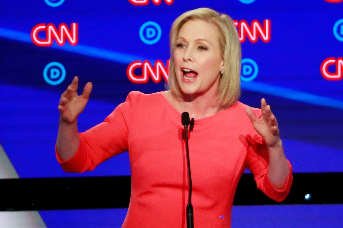 2020 candidate Kirsten Gillibrand, Rep. Bass say their infrastructure bill will boost local jobs, rebuild communities