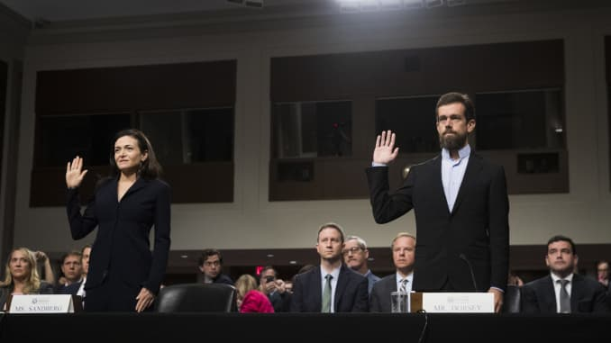 GS - Twitter CEO Jack Dorsey And Facebook COO Sheryl Sandberg