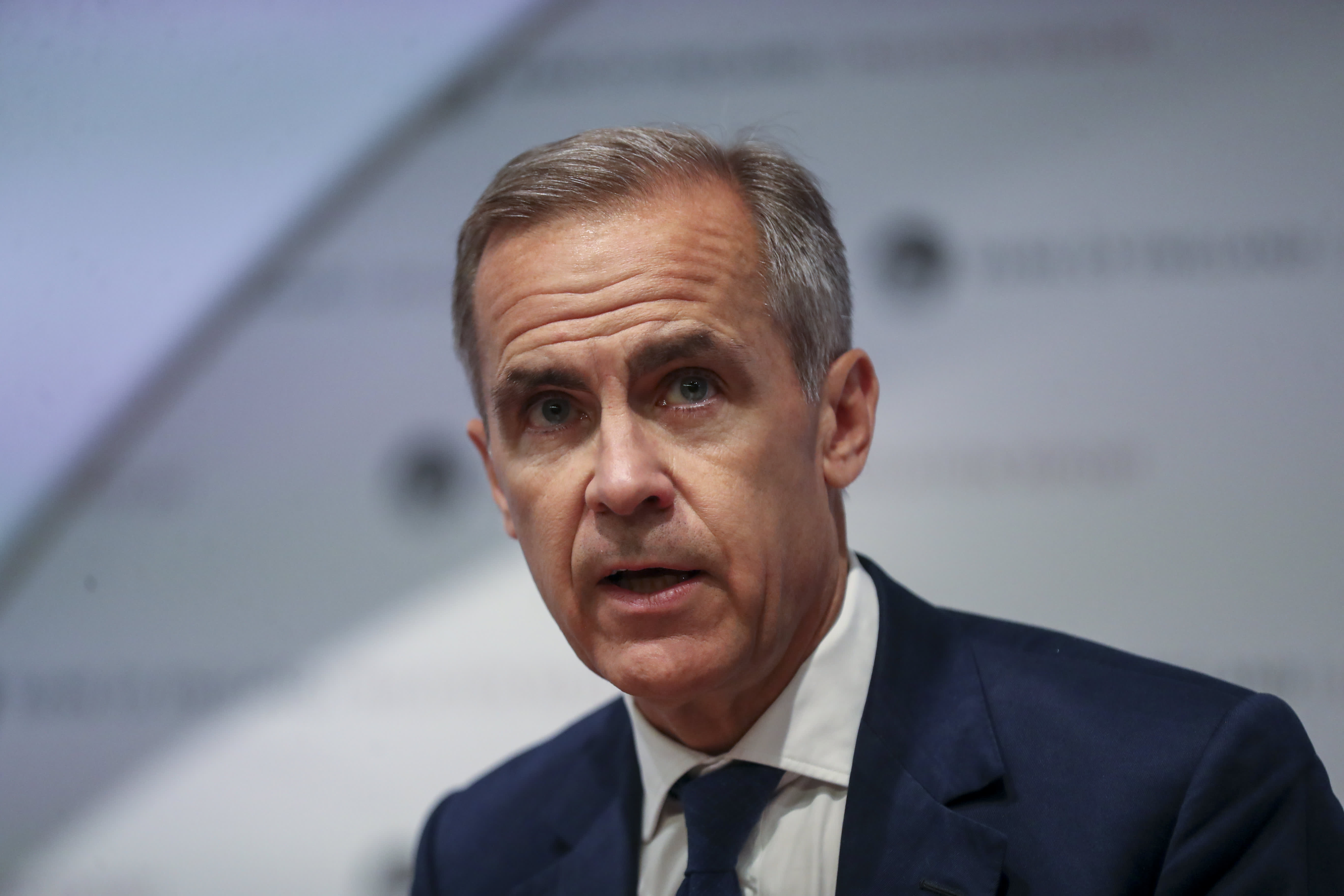 Bank of England Governor Mark Carney says central banks won't be left behind by fintech