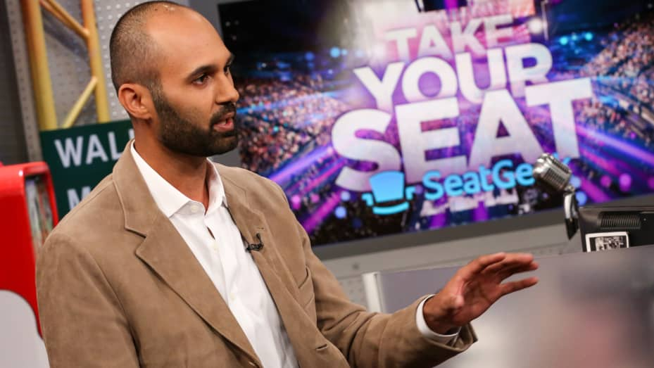 Russell D'Souza, salah satu pendiri SeatGeek