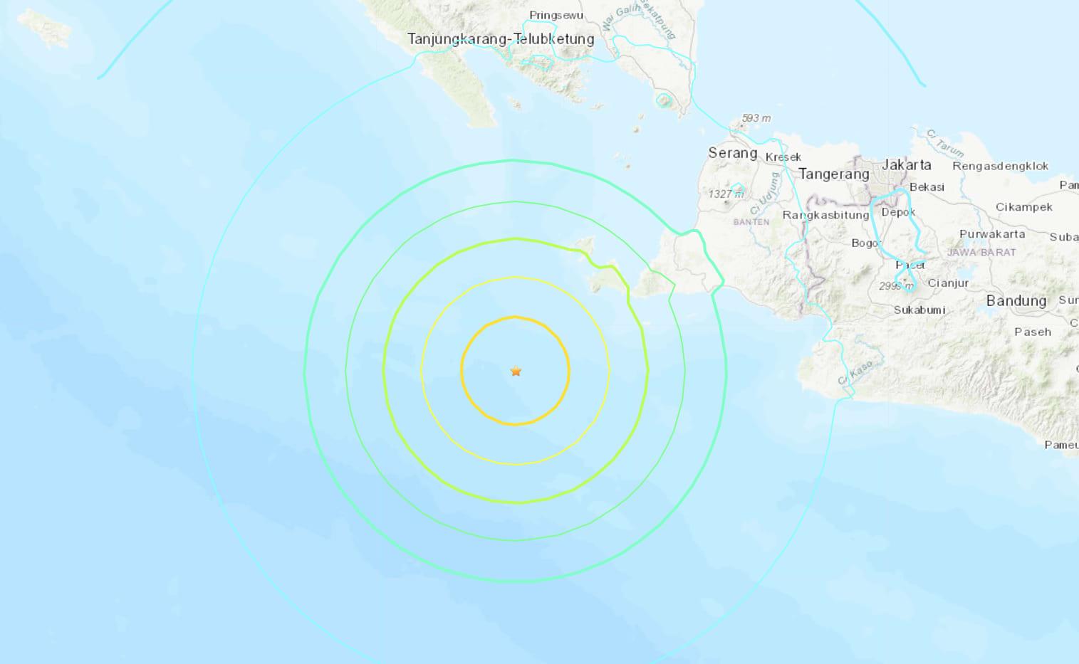 Tsunami warning for parts of Indonesia's Sumatra, Java after strong quake