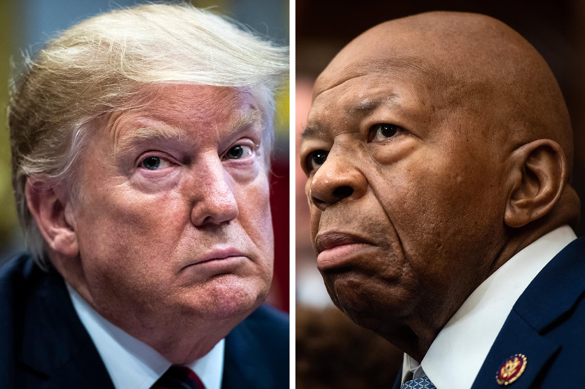 Trump tweets 'too bad!' about burglary attempt at Rep. Elijah Cummings' Baltimore home thumbnail