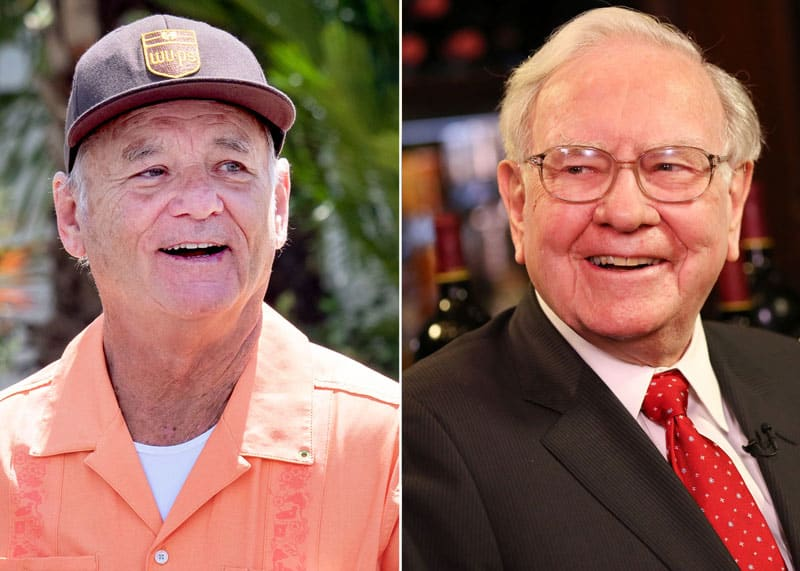 Warren Buffett and Bill Murray hung out together and told jokes this week