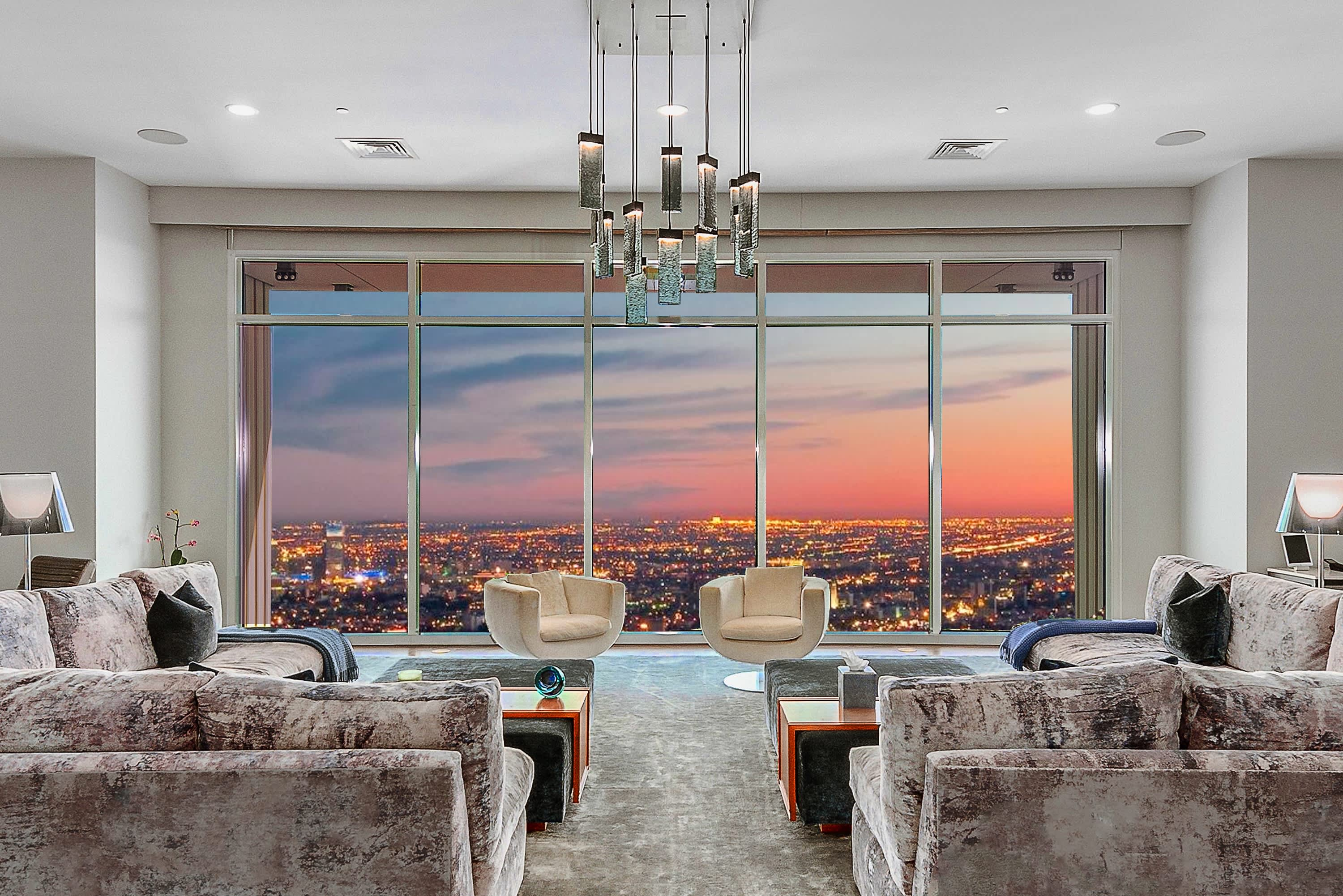 Matthew Perry's L.A. penthouse is on sale for $35 million—take a look inside