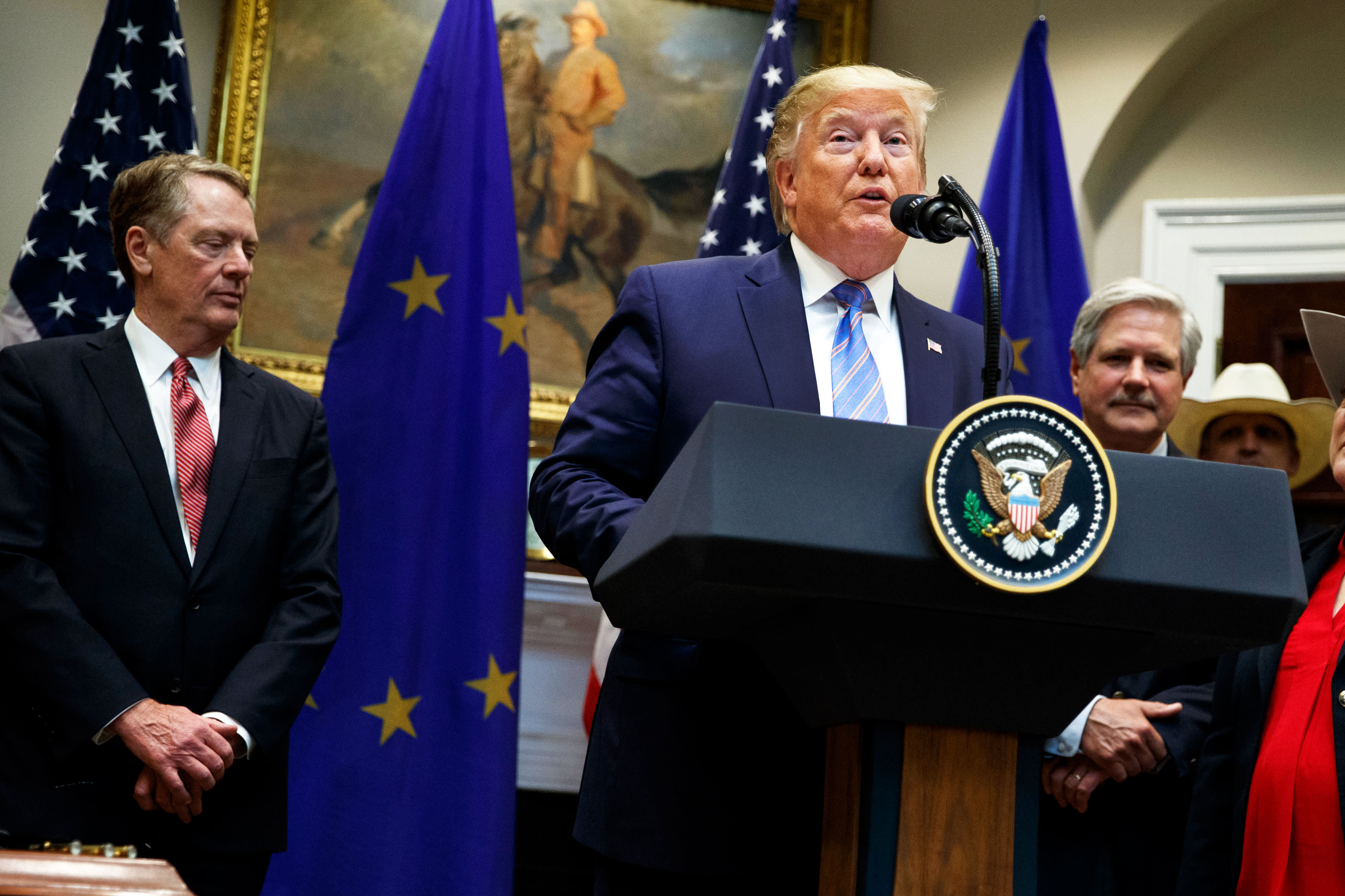 Trump announces deal to expand US beef exports in the EU — and jokes about Mercedes, BMW tariffs