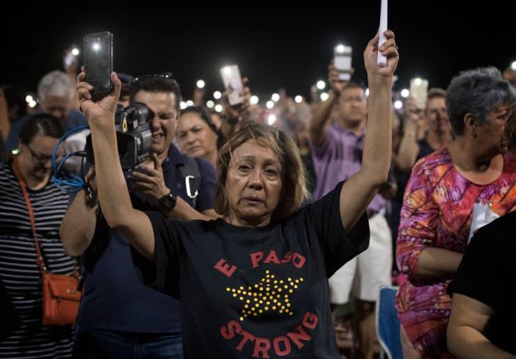 GP: El Paso vigil after mass shooting 190804 US-CRIME-SHOOTING-TOLL