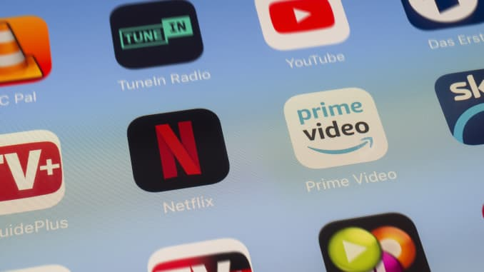 GP: Netflix, Amazon Prime and other video streaming Apps