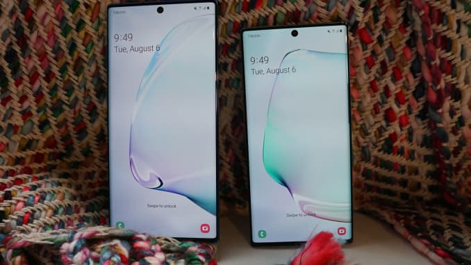 CNBC Tech: Galaxy Note 10 and Note 10+