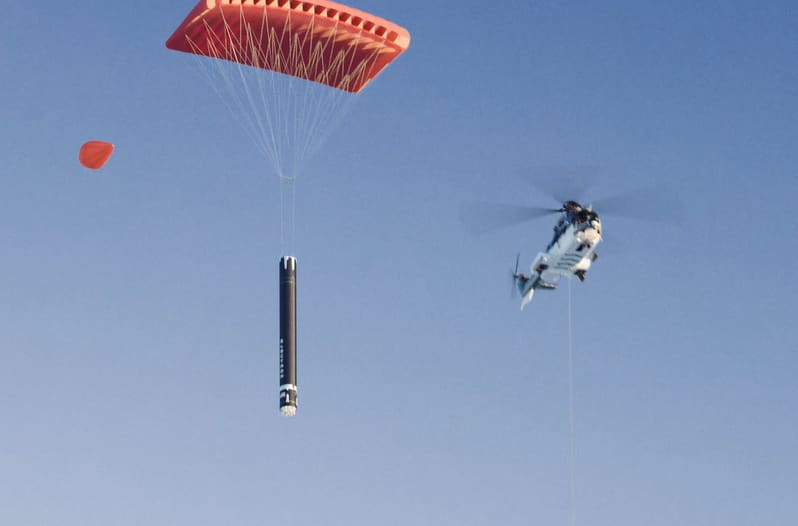 Rocket Lab unveils plan to land small rockets by catching them with a helicopter