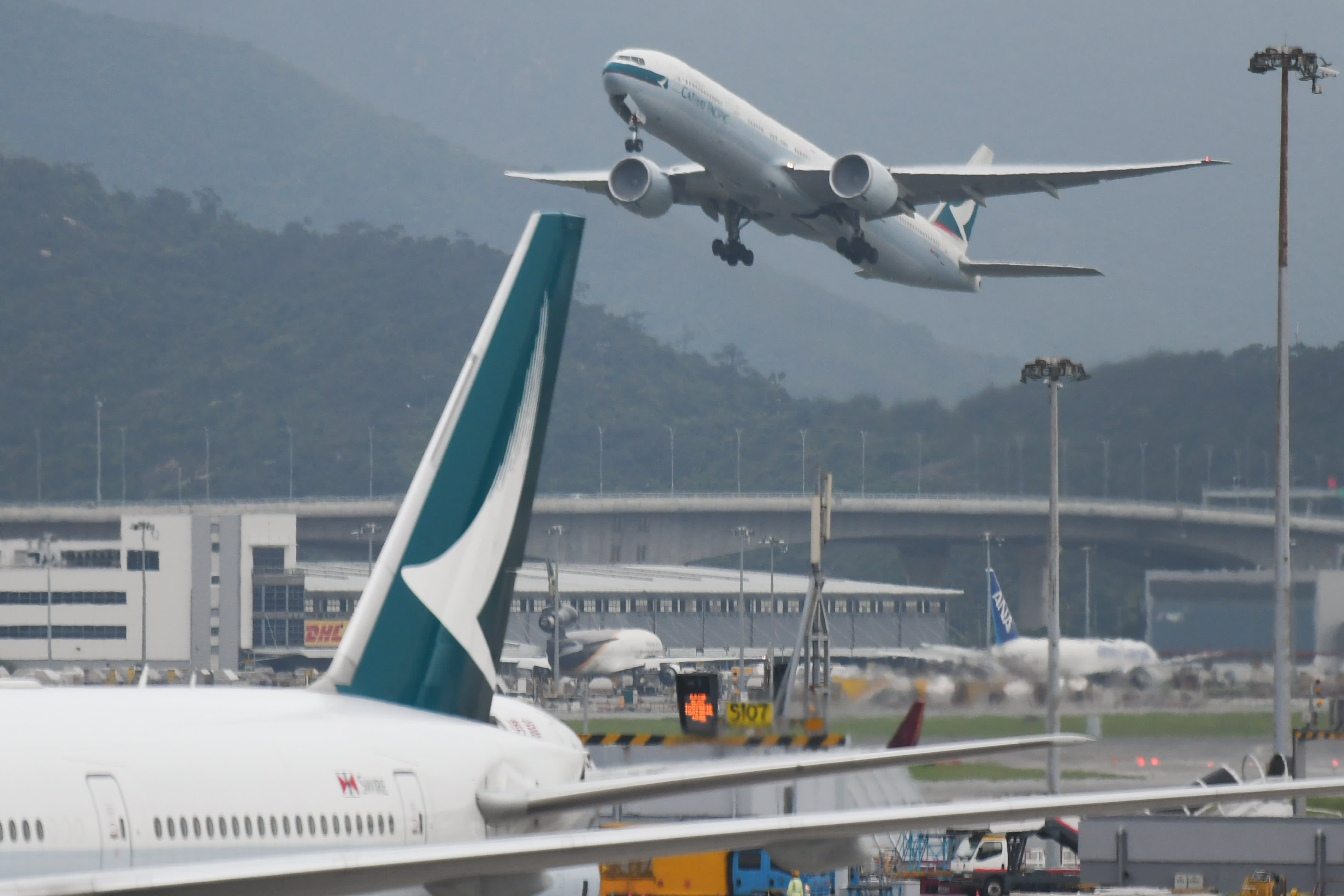 Cathay Pacific suspends pilot for involvement in Hong Kong protests