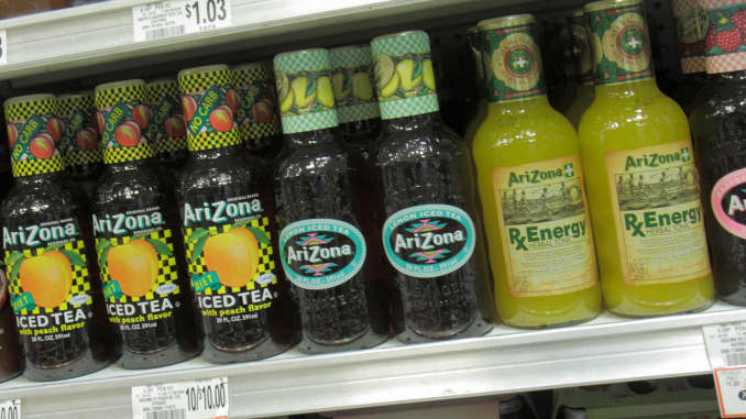 GP: Arizona Iced Tea drinks