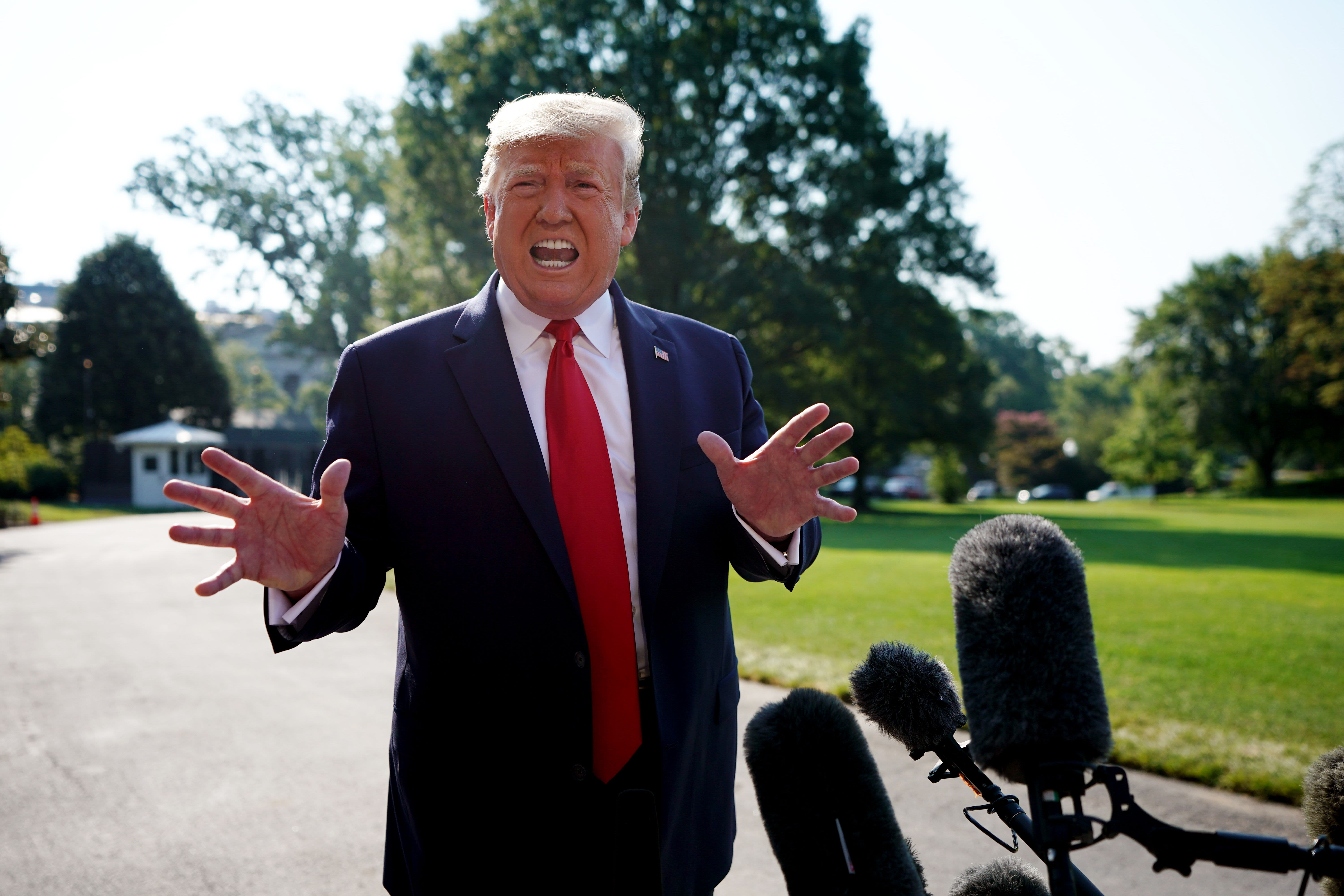 Trump says he'll call Congress back to Washington if GOP and Dems get 'close' on gun reform plan