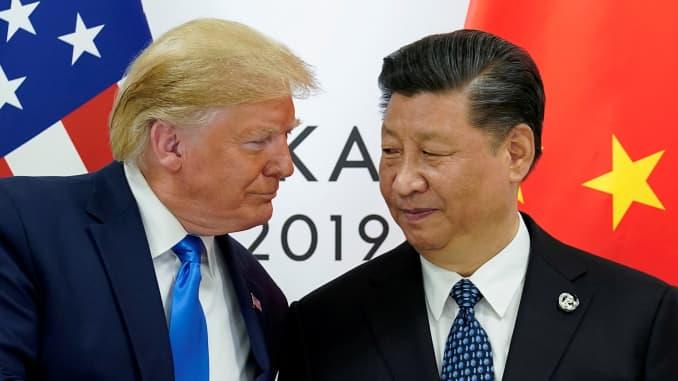 RT: Donald Trump Xi Jinping US China Trade war