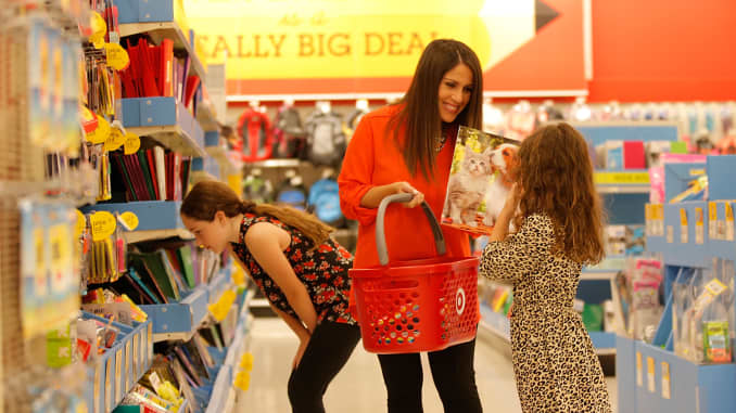 GP: Back-to-School Shopping At Target 140731