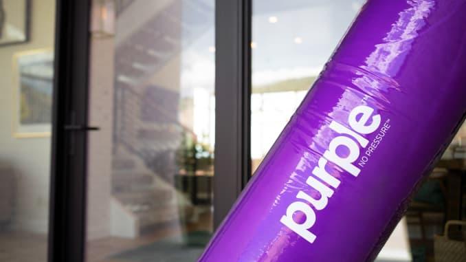 H/O: Purple Innovations mattress closeup