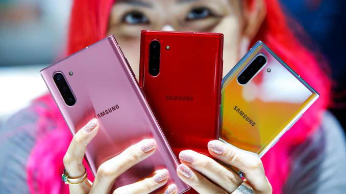 RT: Samsung Galaxy Note 10 launch 190807