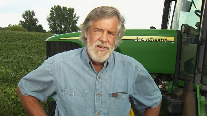 CNBC: Christopher Gribbs, a soybean farmer from Ohio