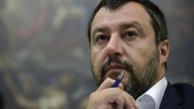 GS - Italy Deputy PM Matteo Salvini