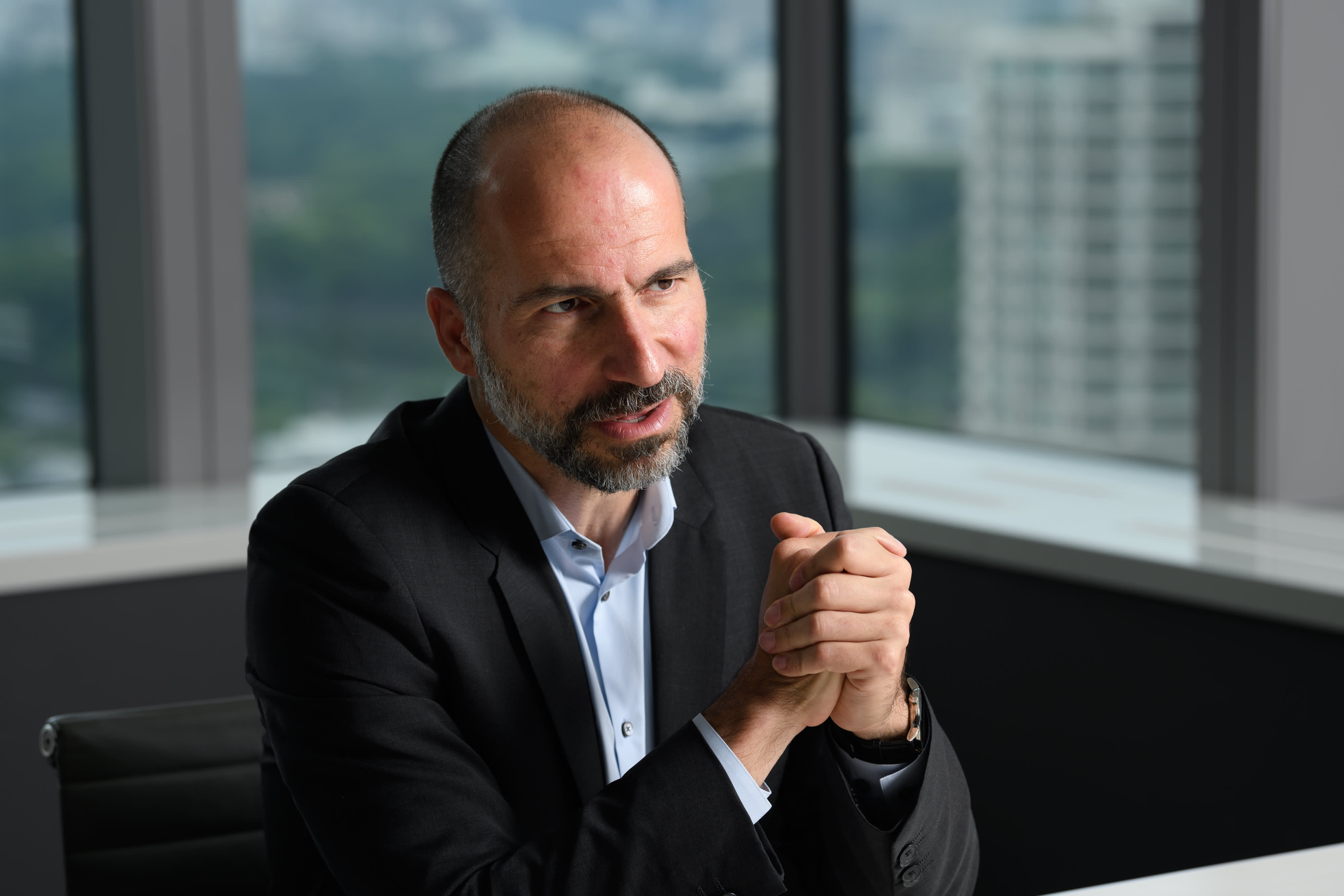 Uber CEO Dara Khosrowshahi speaks with CNBC's David Faber and Jim Cramer: Full transcript
