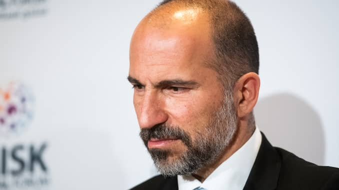 GP: Dara Khosrowshahi, chief executive officer of Uber Technologies Inc