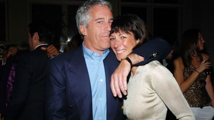 Jeffrey Epstein y Ghislaine Maxwell