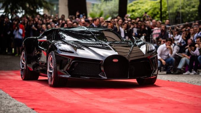 H/O: Bugatti's La Voiture Noire