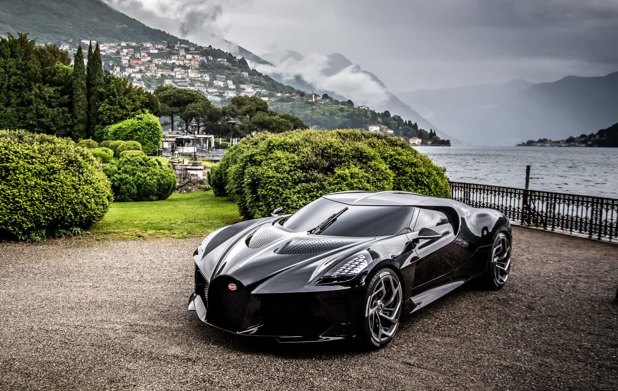 Bugatti's $18.7 million La Voiture Noire makes its US debut at Pebble Beach