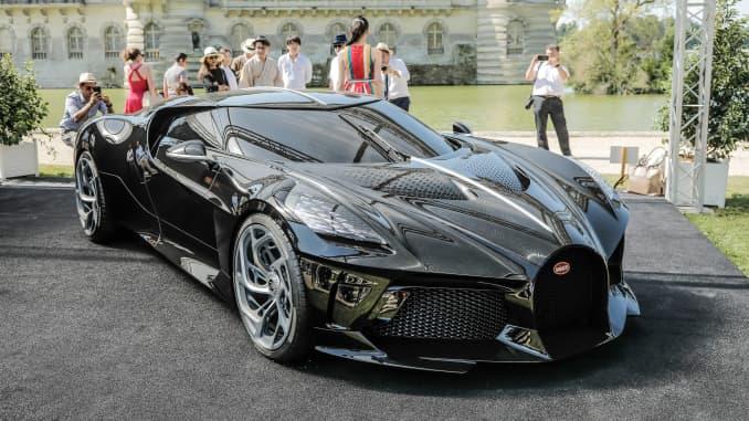 H/O: Bugatti's La Voiture Noire 8