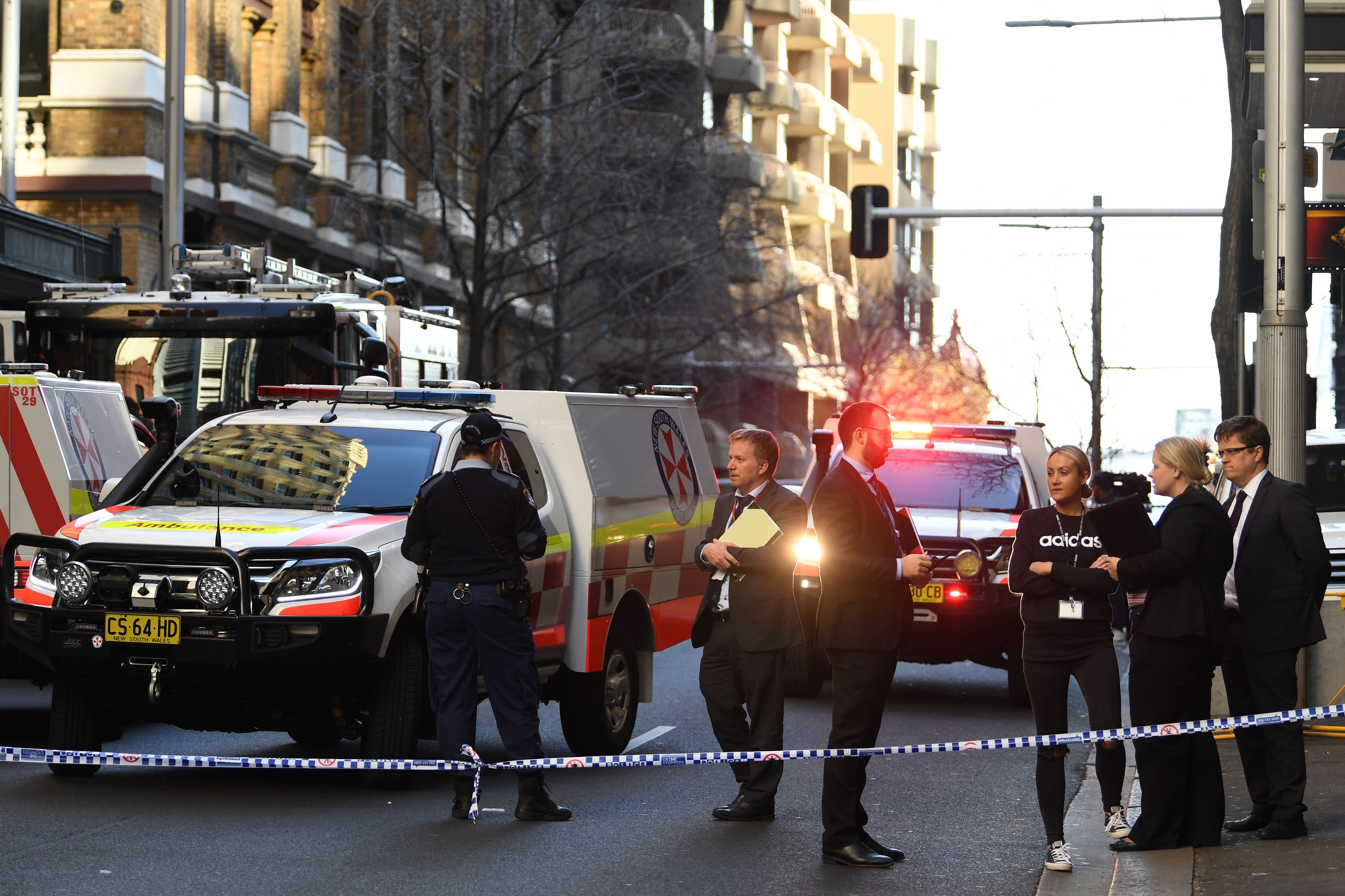 Australian police say woman stabbed in downtown Sydney attack thumbnail