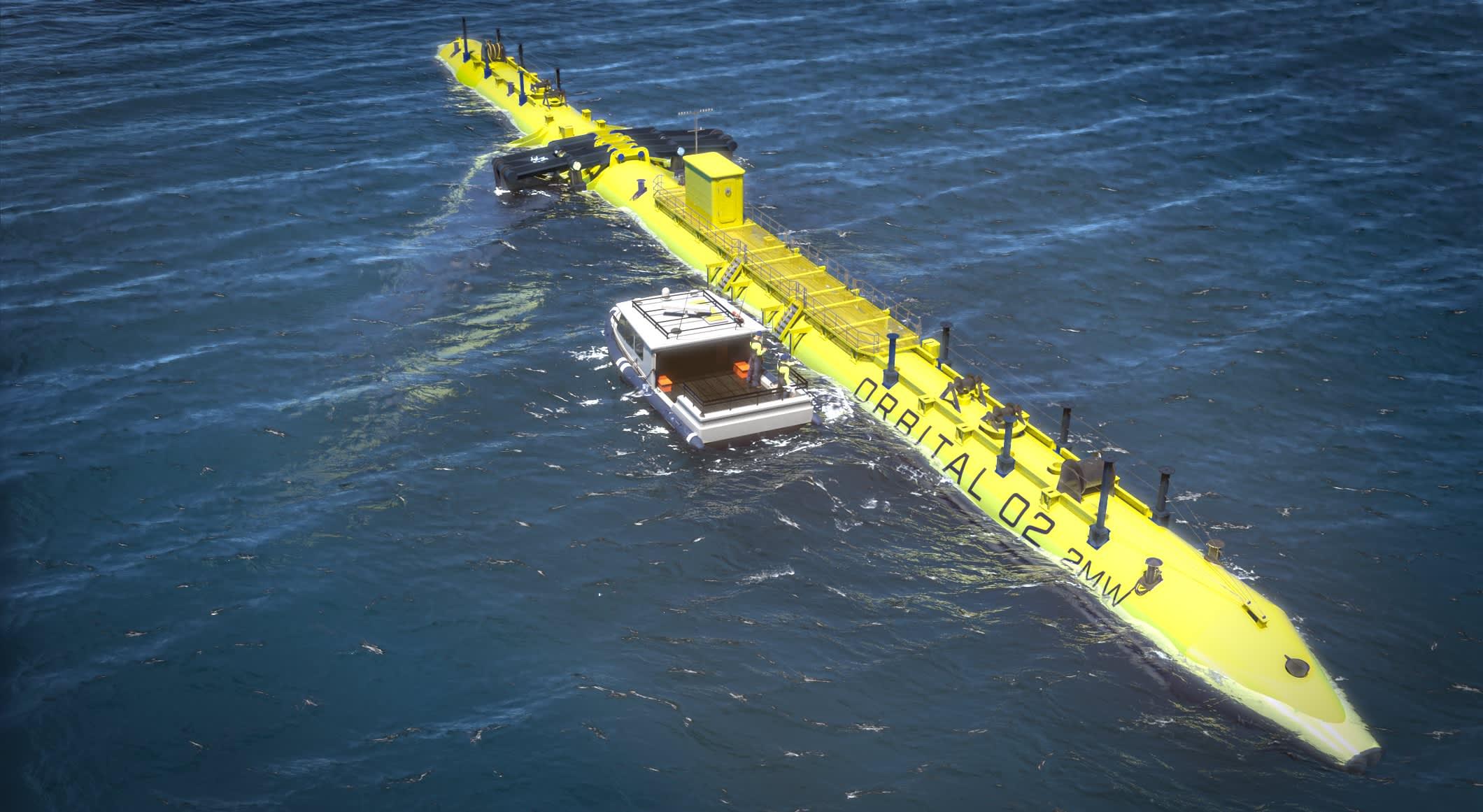 Marine Energy - Cover
