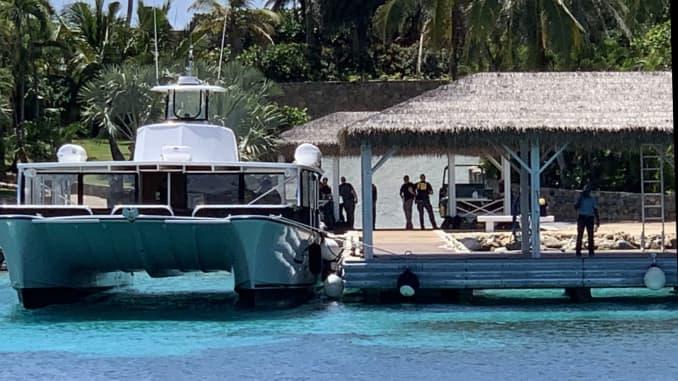H/O: FBI Raid on Jeffrey Epstein Caribbean home US Virgin Islands
