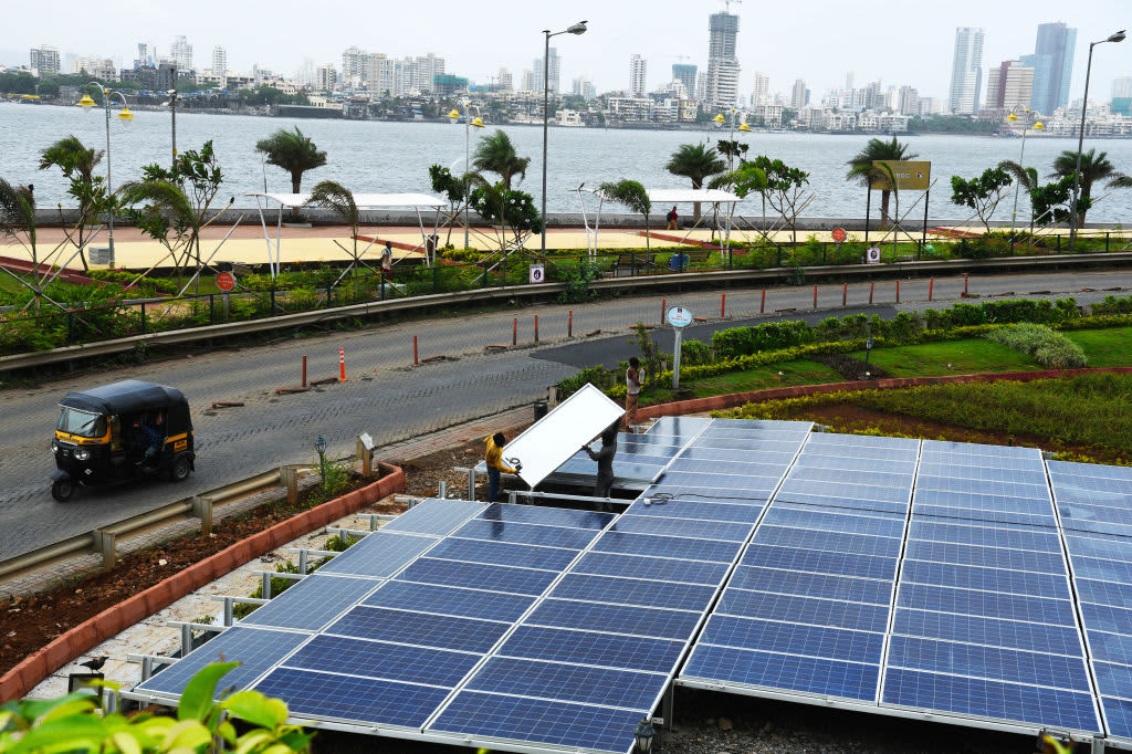 To meet future energy demands, India is promising a push toward sustainability