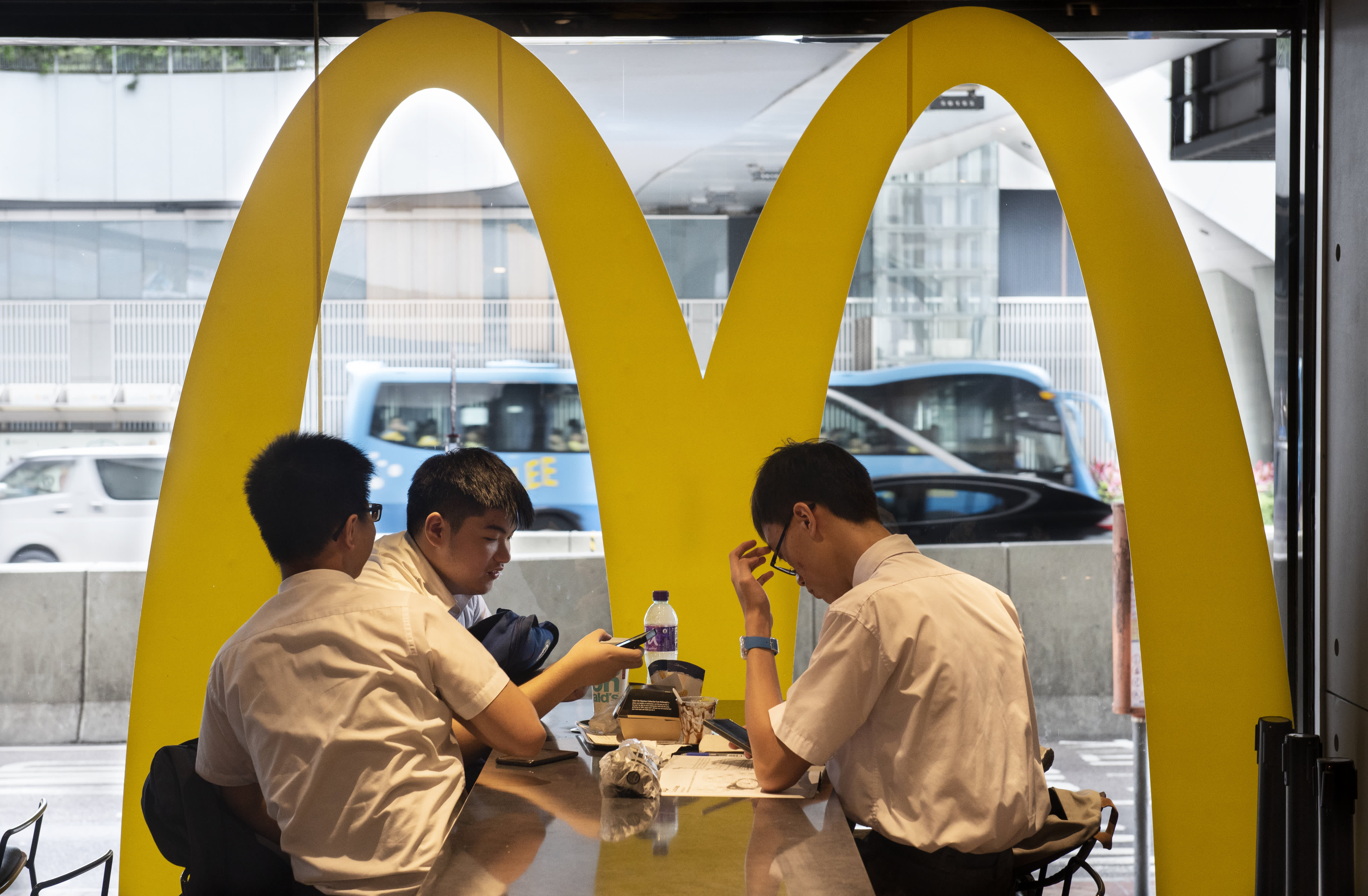McDonald's slides after JP Morgan analyst says chain's earnings seem 'softer' than expected