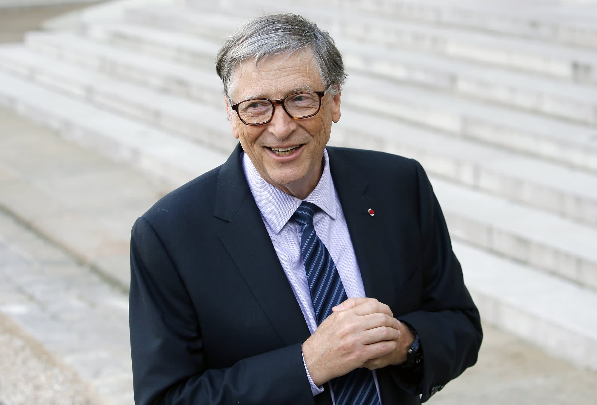 Bill Gates gave away $35 billion this year but didn't see his personal net worth drop