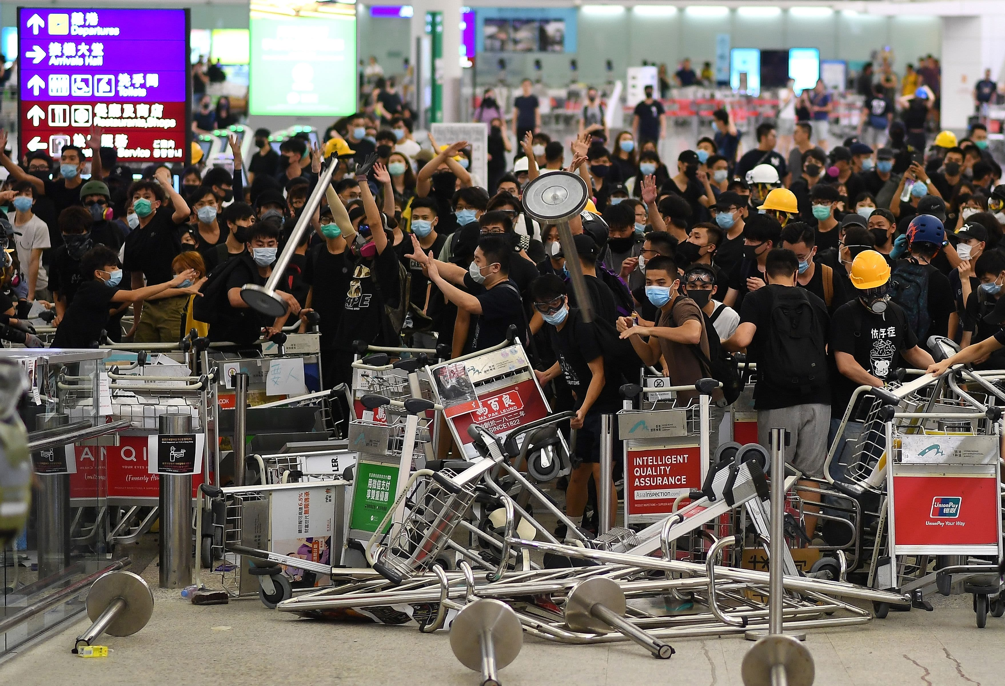 'There is no return to what Hong Kong was,' strategist says of protests