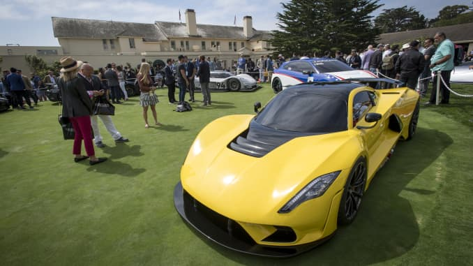 GP: Inside The Pebble Beach Concours d'Elegance Classic Car Show And Auction