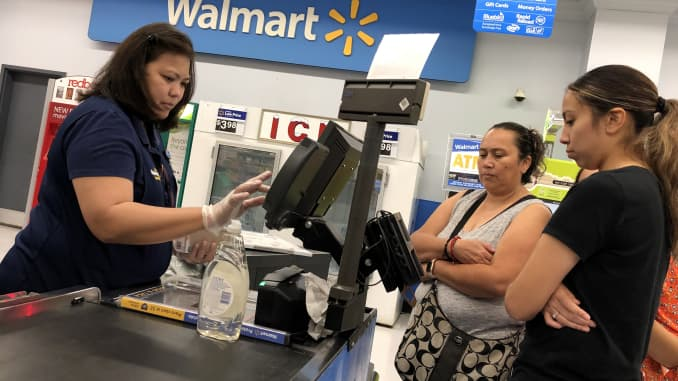GP: Walmart shoppers consumer sentiment 190815