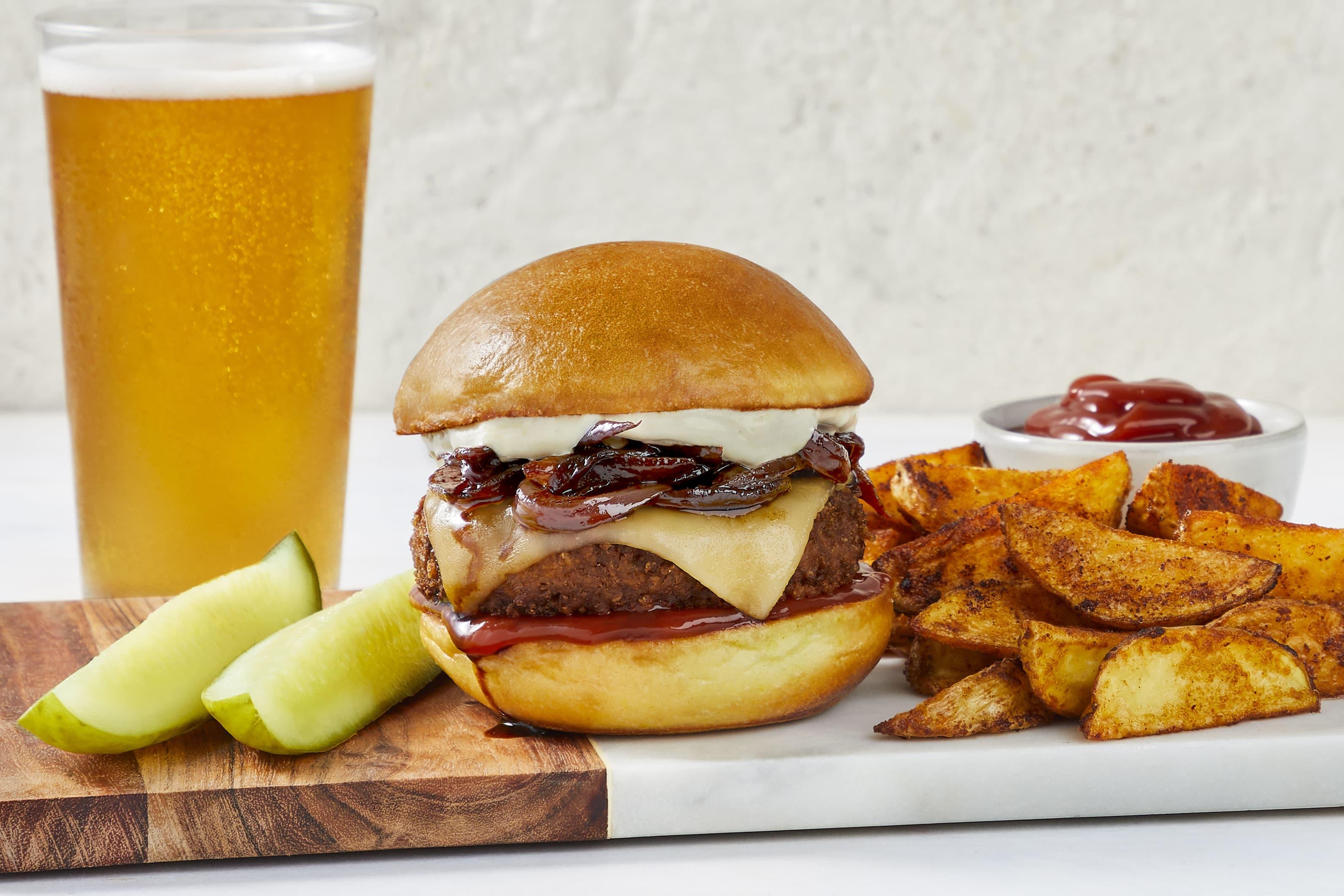 Beyond Meat's vegan burger is heading to HelloFresh meal kits