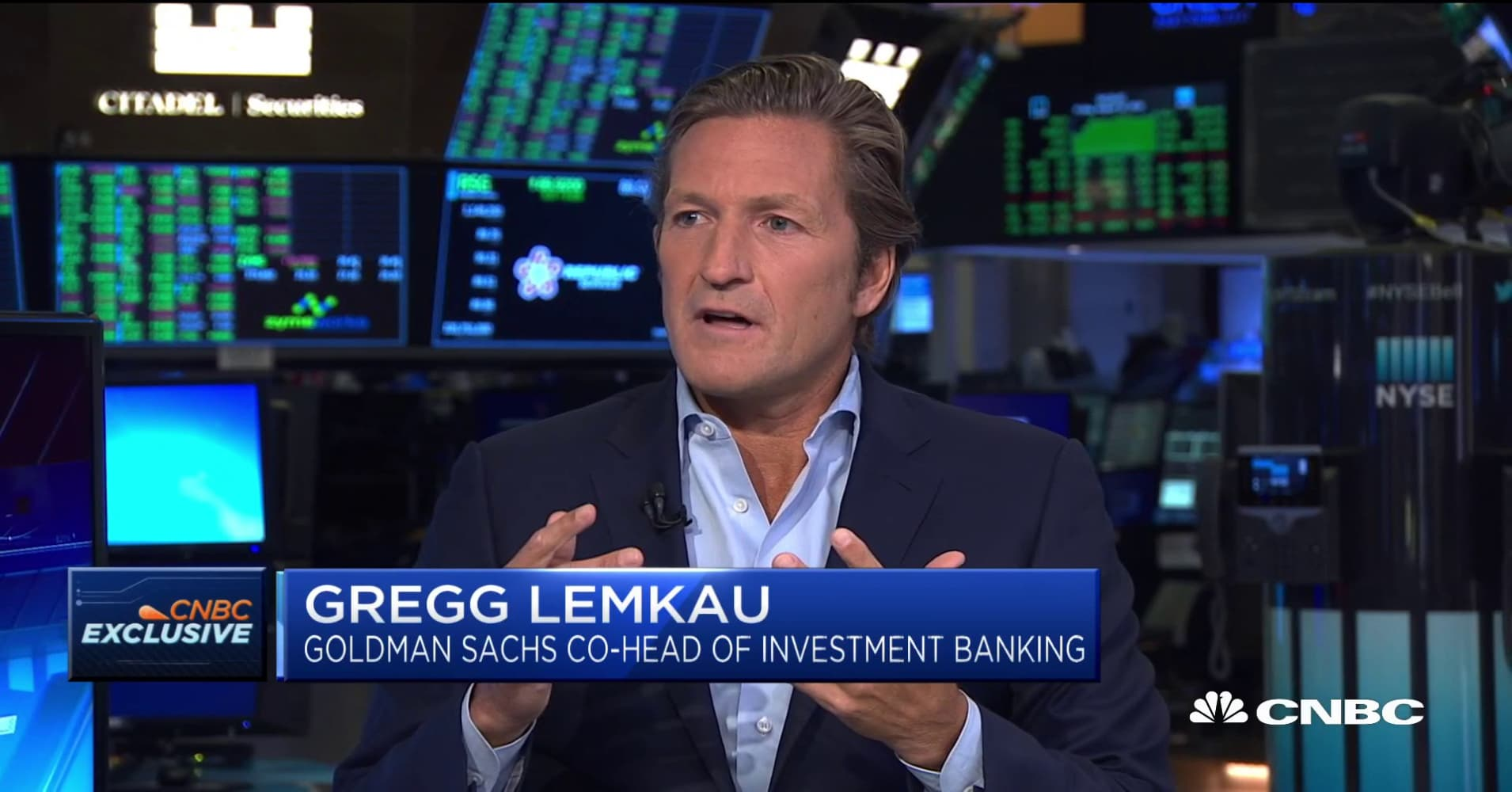 Goldman Sachs' Gregg Lemkau on the IPO market outlook and CBS, Viacom merger