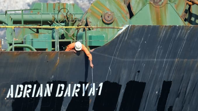 GP: Iranian oil tanker Adrian Darya 190819