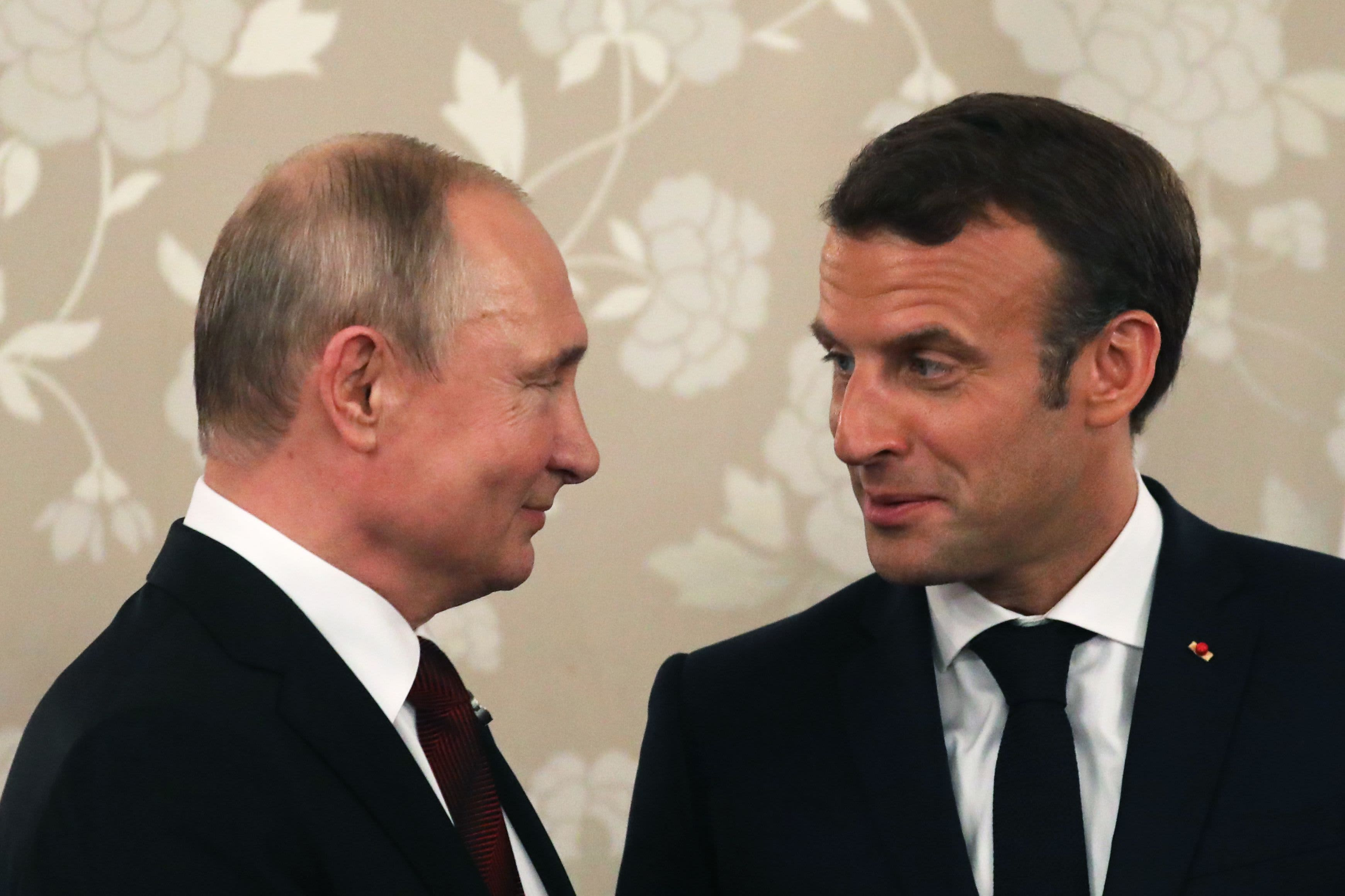 Macron hopes Putin and other leaders can attend a summit on Ukraine